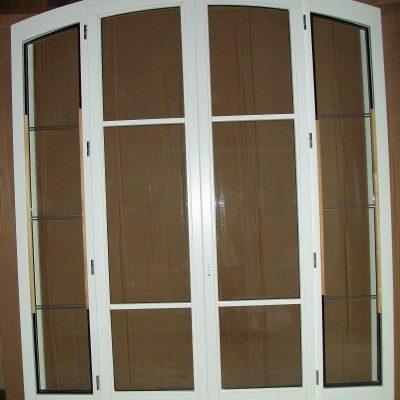 fenêtre 4 ventaux et 2 fixes