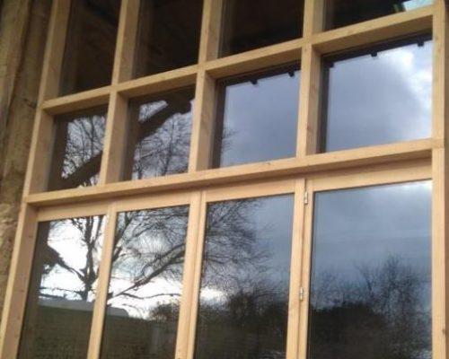Emsemble baie vitrée