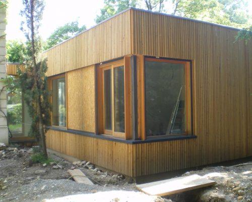 L'extension d'une maison