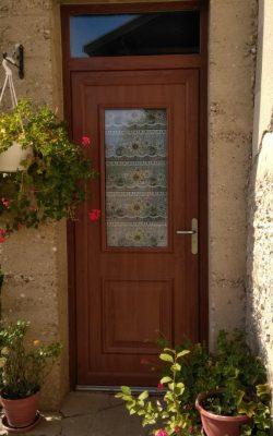 Porte d'entree vitree impose 2