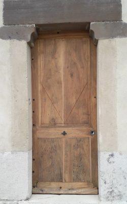restauration porte ancienne